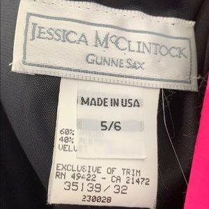 Gunne Sax Dresses - Gunne Sax Velvet Dress Size Small Maxi 80's